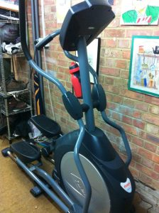 For those of you who are fitness enthusiasts, you're welcome to use our cross-trainer.