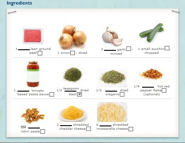 Count/Noncount Nouns and Units of Measure on Ingredient Lists - count and noncount nouns esl