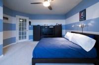 Bedroom Wallpaper Blue 10 Renovation Ideas - EnhancedHomes.org