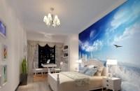 Bedroom Wallpaper Blue 21 Design Ideas - EnhancedHomes.org