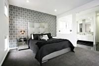 Bedroom Wallpaper Feature Wall 35 Inspiration ...