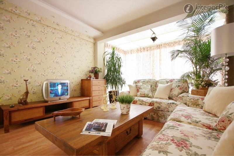 Country Living Room Wallpaper 34 Decor Ideas