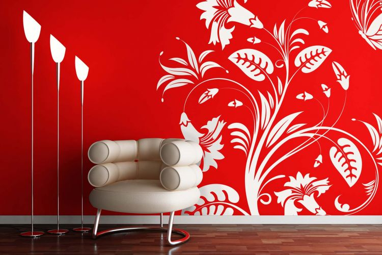 paint interior walls ideasmakiperacom simple wall painting for - designs for walls