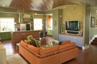 Living Room Bar 26 Decor Ideas - EnhancedHomes.org