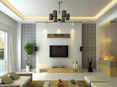 Modern Wallpaper Living Room 16 Picture - EnhancedHomes.org