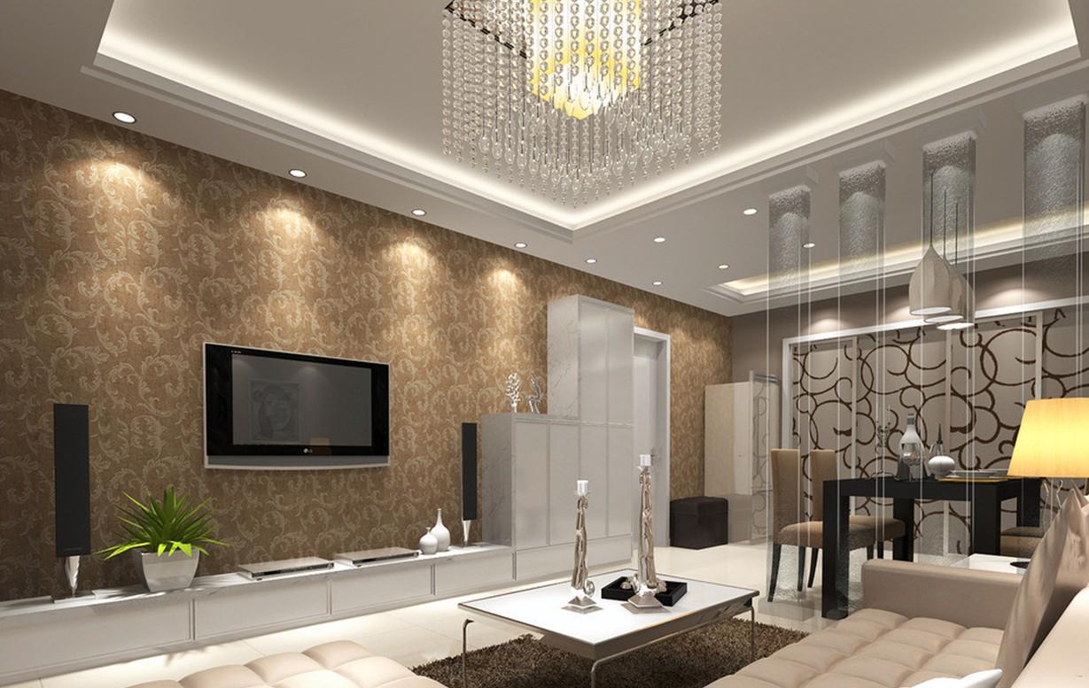 Wallpaper Borders For Living Room 27 Design Ideas