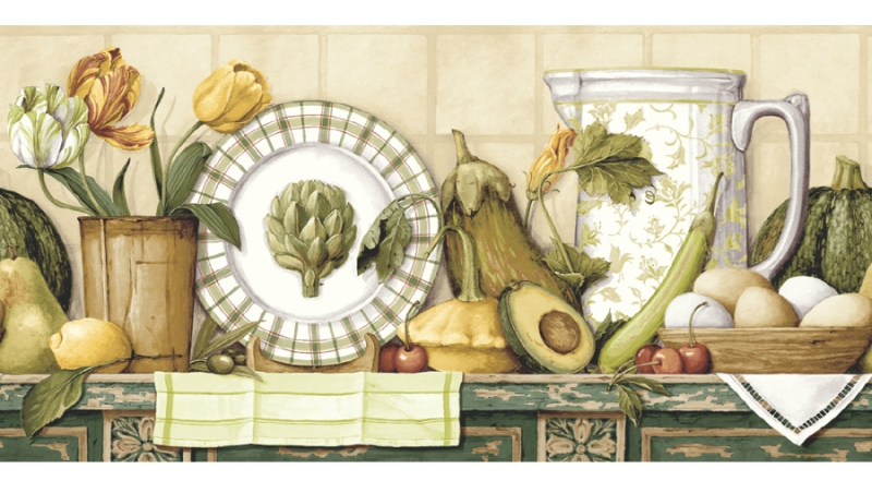 Kitchen Wallpaper Borders Ideas 10 Home Ideas