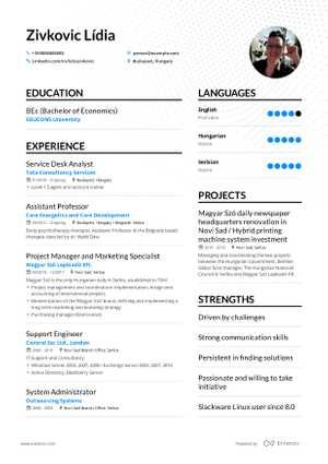 The best 2019 Information Technology\u2014IT resume example guide - Technology Resume