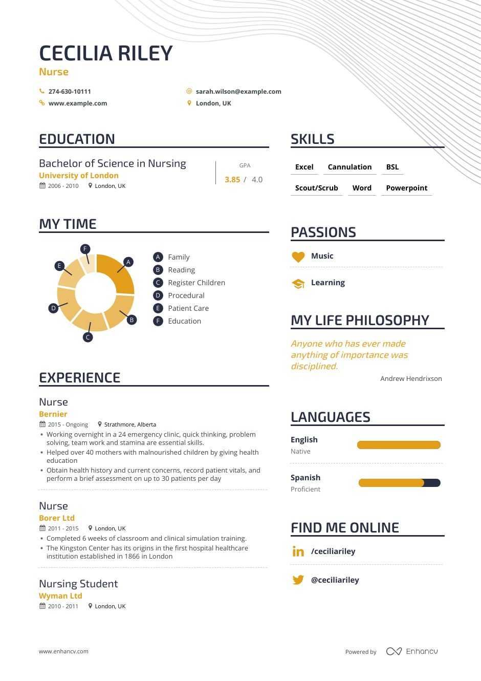examples of skills summary on a resume