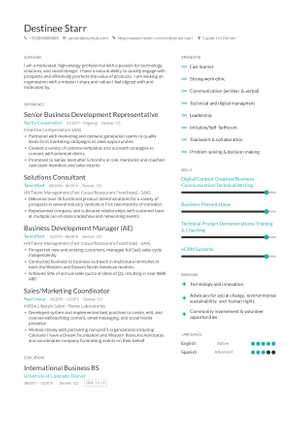 The best 2019 business management  leadership resume guide
