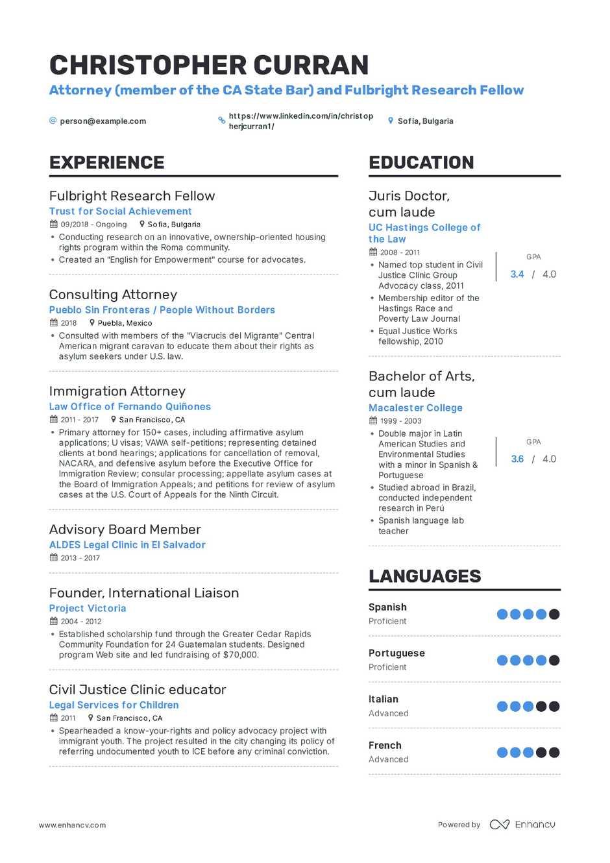 resume teacher job summary
