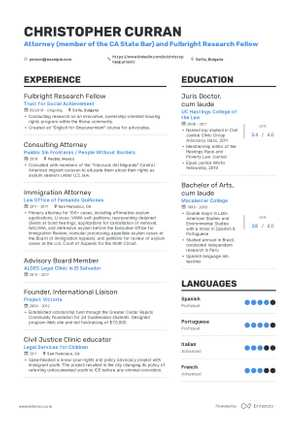 The best 2019 legal resume example guide