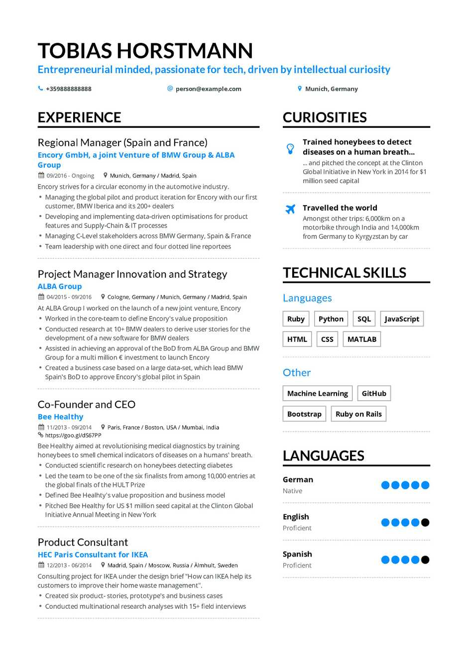 resume headline for banking professional