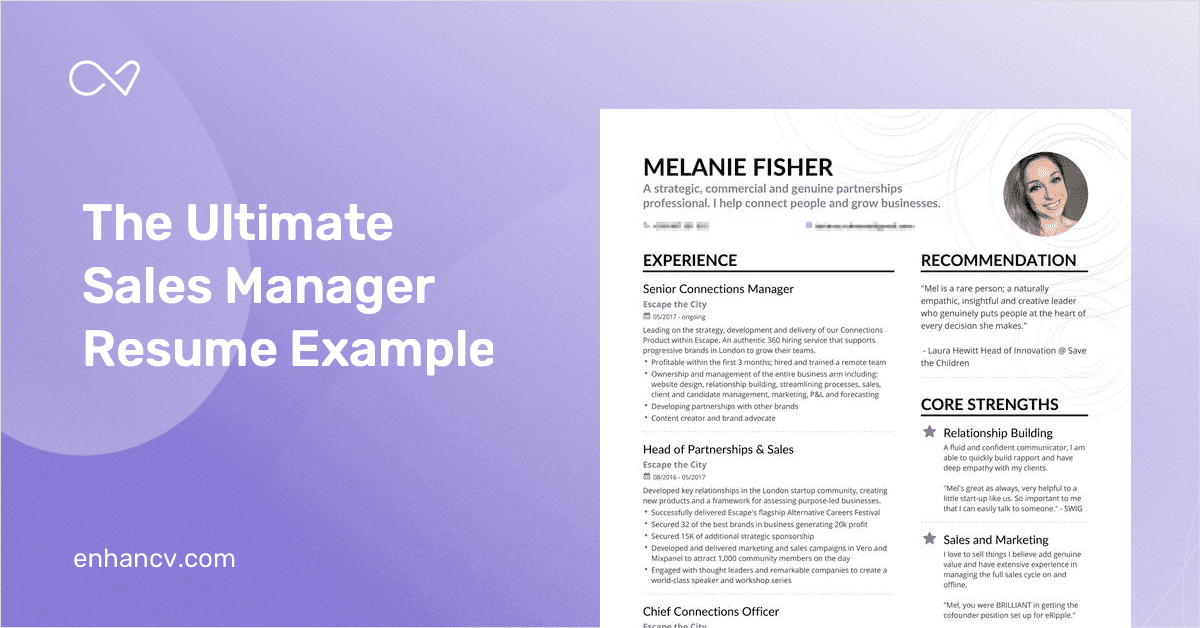 product manager resume examples for united kingdom