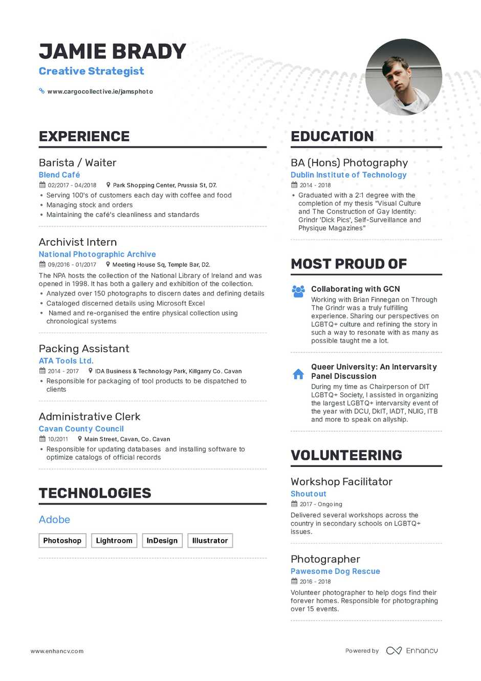 how to make a cv resume for freshers