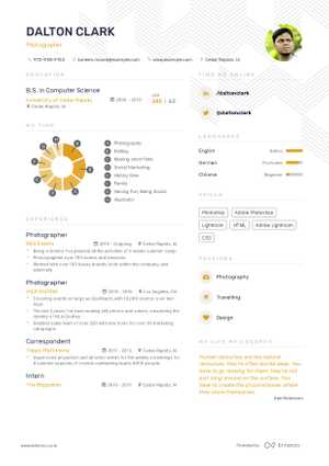The best 2019 art and design resume example guide