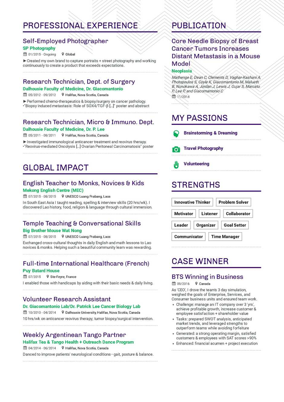 Was Heißt Küche Auf Englisch The Ultimate 2019 Resume Examples And Resume Format Guide