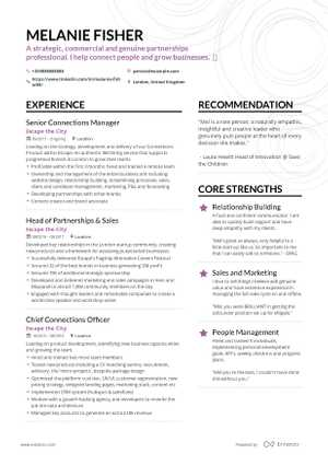 The best 2019 sales resume example guide