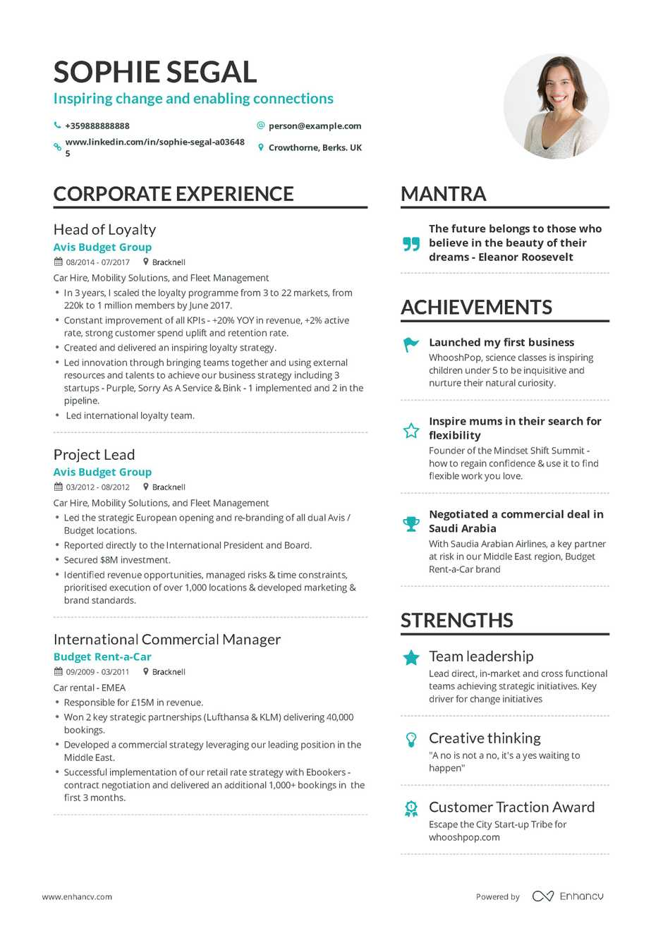resume summary examples for beginners