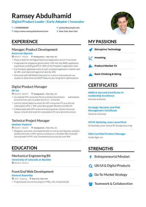 The best 2019 project manager resume example guide