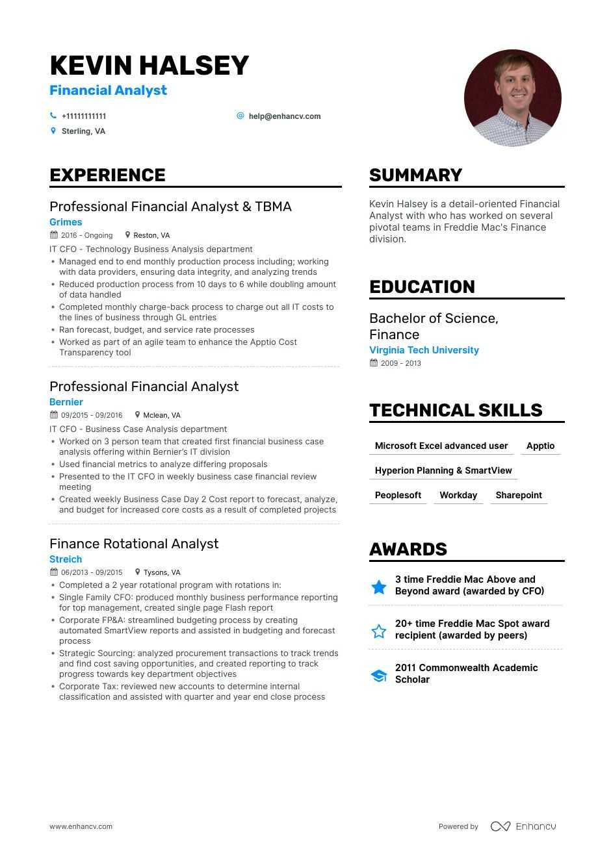 resume analyst application