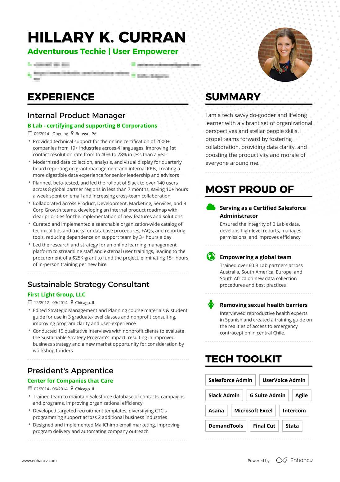 preview resume