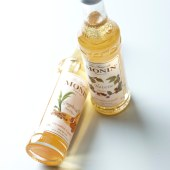 monin miniature coffee syrups by crumb