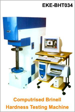Computrised Brinell Hardness Testing Machine  Steel  Metal