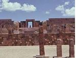 Tiahuanco Gate to Pumapunku, where Adad-Viracocha set up initial base camp