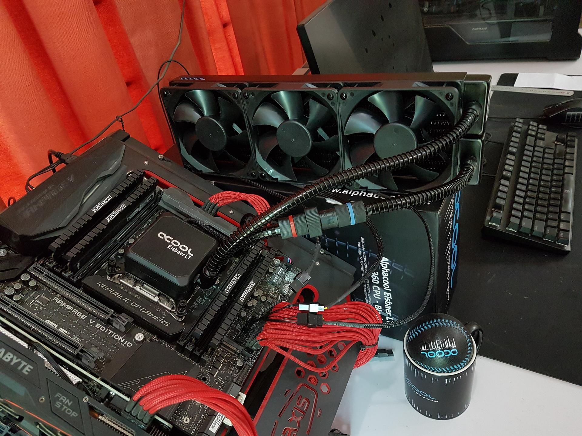 Cpu Sockel 1156 Alphacool Eisbaer 360 Lt Cpu Cooler Review Enostech