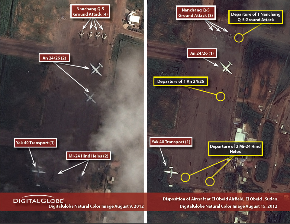 Situation Report Sudan Aircraft at El Obeid Airfield - The Enough