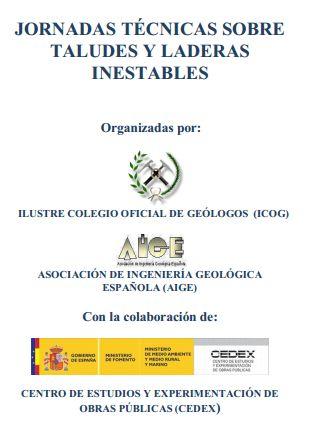 Jornadas Técnicas sobre Taludes y Laderas Inestables 2012
