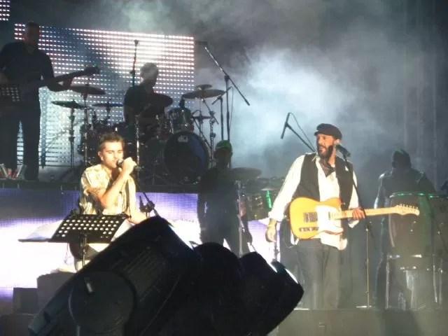 Juanes y Juan Luis juntos