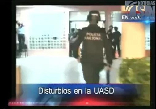 Violencia UASD