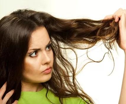 chicle en cabello
