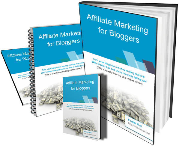 affiliate marketing for bloggers ebook cover