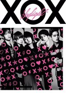 XOX 3rd SINGLE「Skylight」【初回盤(A) CD+DVD+写真集】ジャケ写