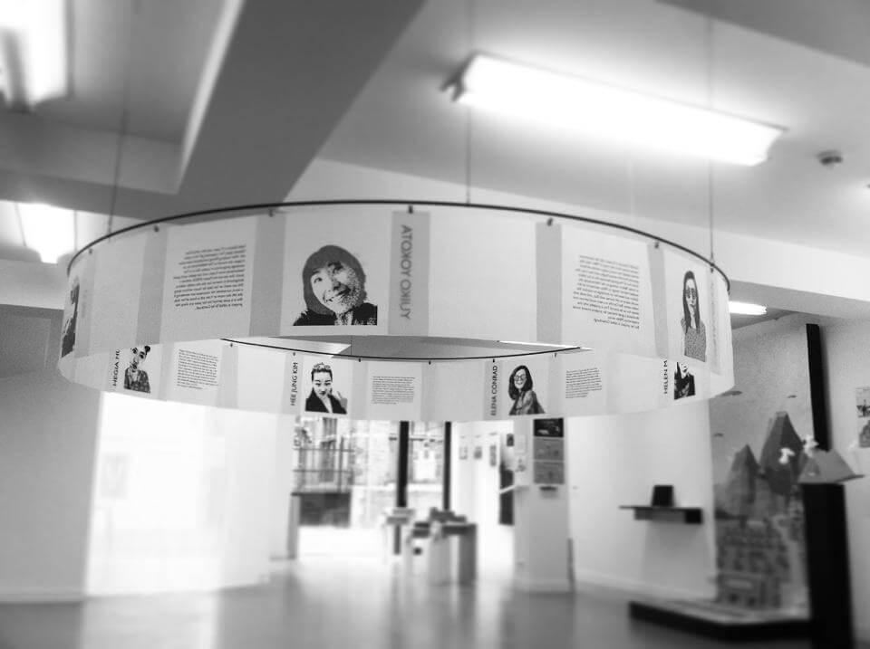 Foto graduation exhibition Elena