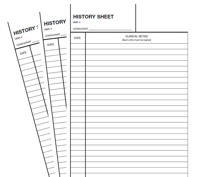 Clinical Notes Sheets - notes sheet template