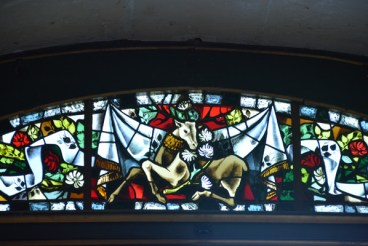 stained glass fanlight