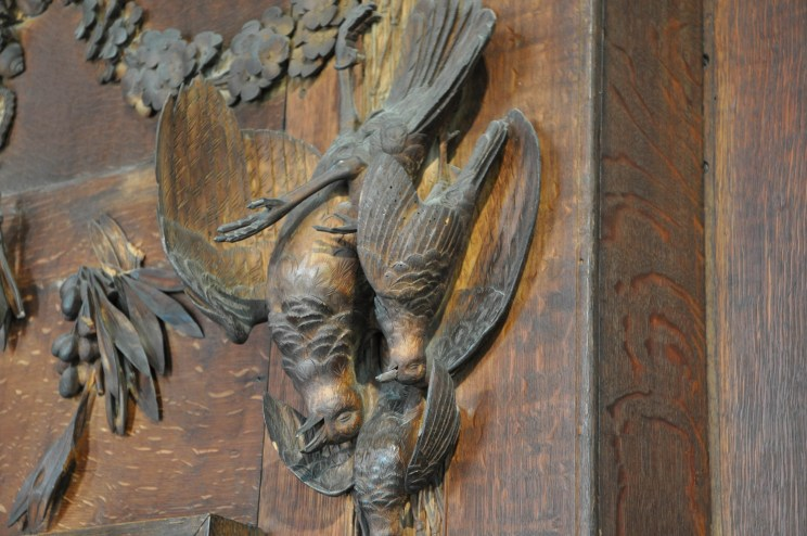 Carving attributed to Grinling Gibbons
