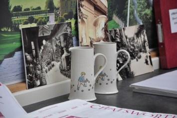 Beautiful ceramic jugs