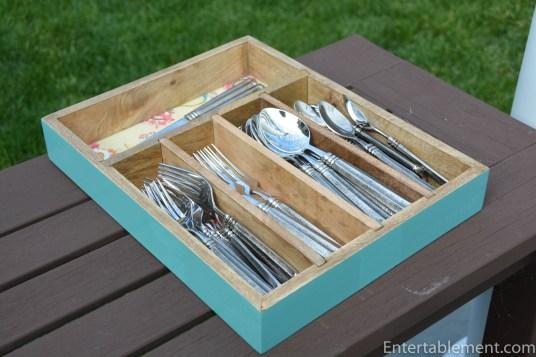 World Market Cutlery Tray
