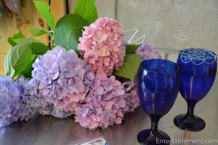 Gather up some more peonies and choose the glasses to hold them