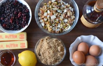 Scottish Tart filling ingredients