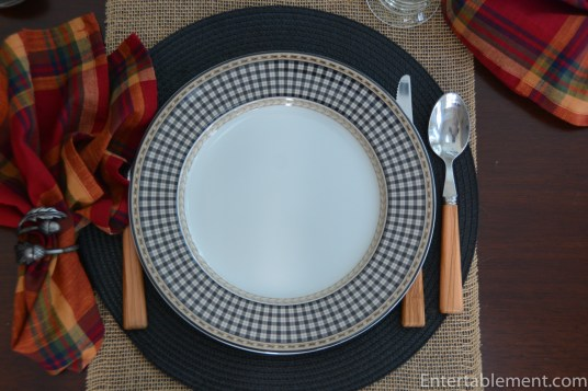 Provencal Black by Royal Doulton Pattern #1
