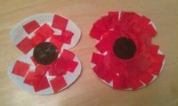 Remembrance poppy craft | entertaining monsters