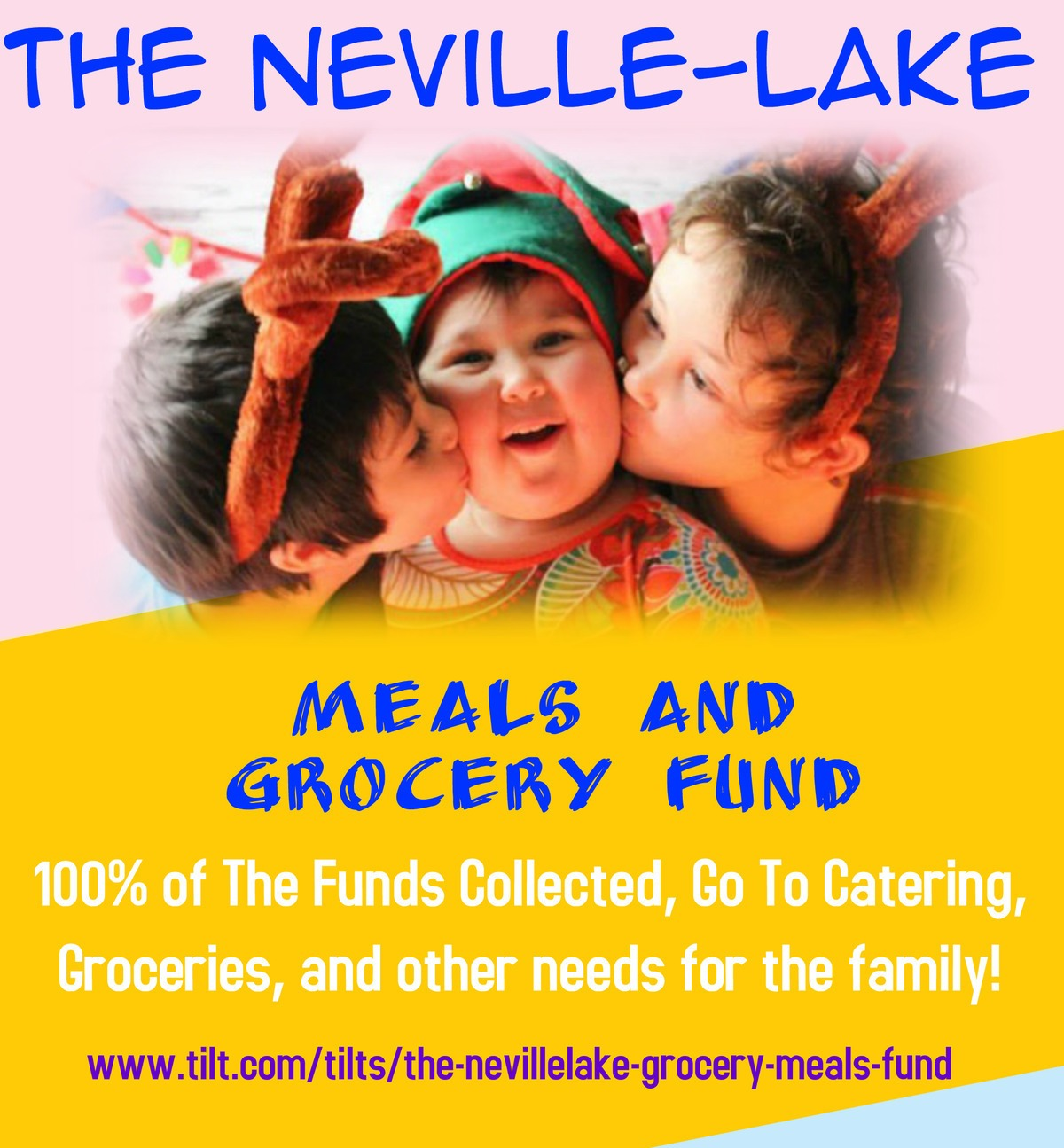 Please Donate to The Neville-Lake Family
