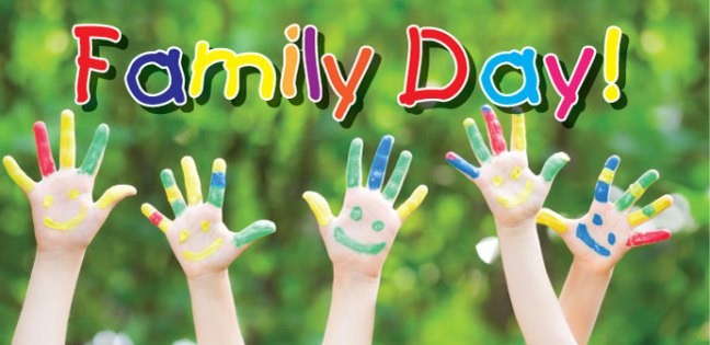 FAMILY DAY WEEKEND 2016 CALENDAR