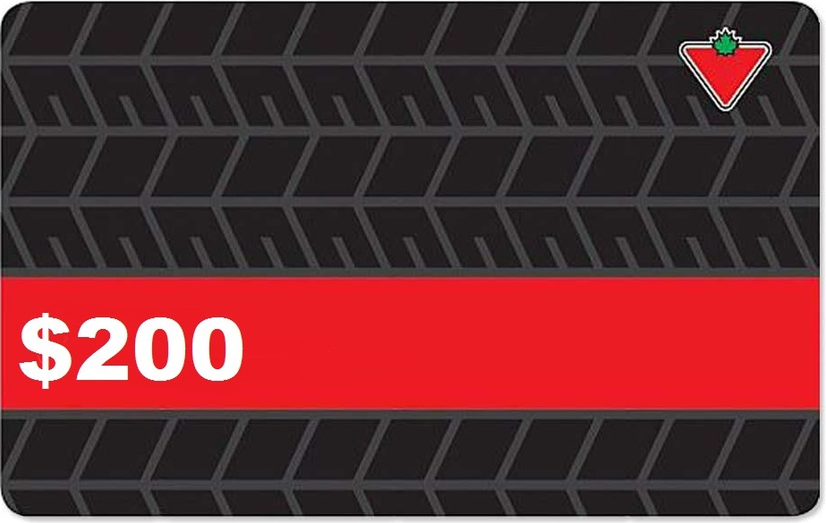$200 Canadian Tire Gift Card Contest!